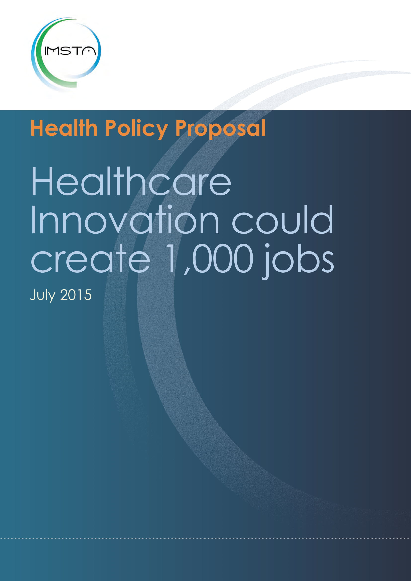 Healthcare Innovation could create 1,000 jobs