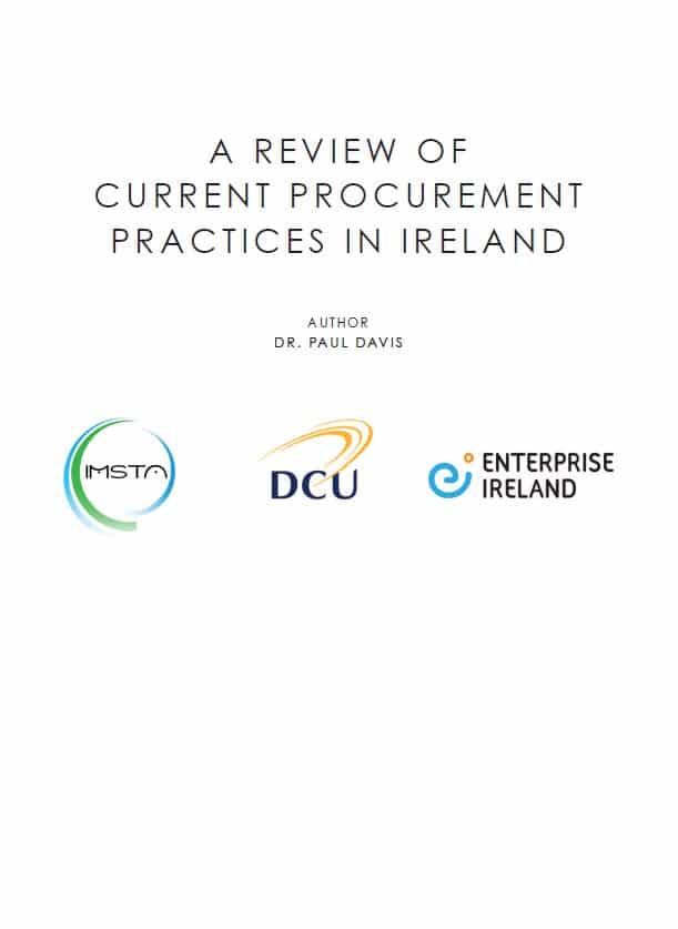 A Review of Current Procurement Practices in Ireland