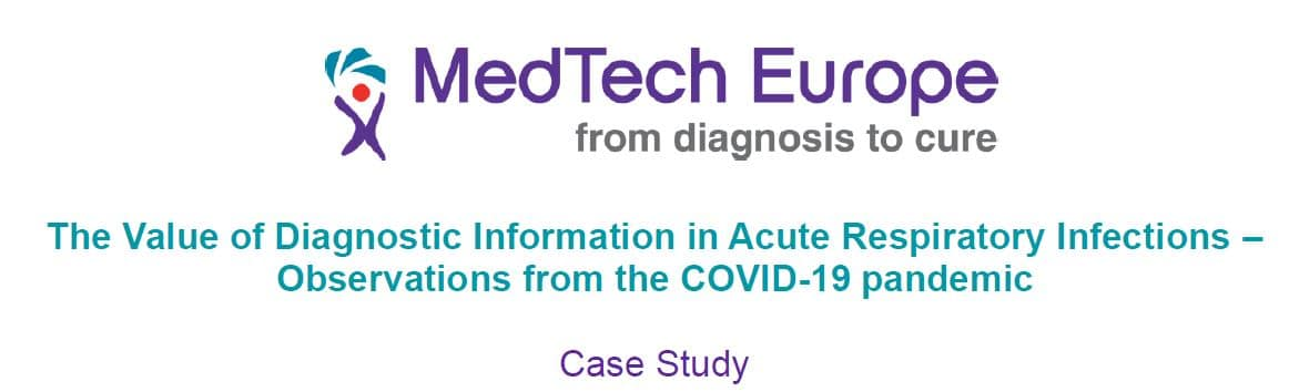 MedTech Europe – The Value of Diagnostic Information in Acute Respiratory Infections – Observations from the COVID-19 pandemic
