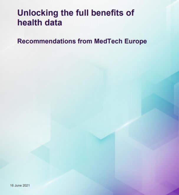 Medtech Europe – Position Paper on Unlocking the Full Benefits of Health Data